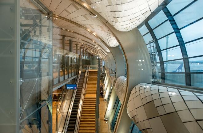 Oslo lufthavn Gardermoen. Foto: Knut Werner Lindeberg Alsén